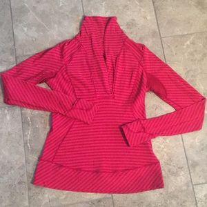 Pink and Reddish Lululemon Pullover